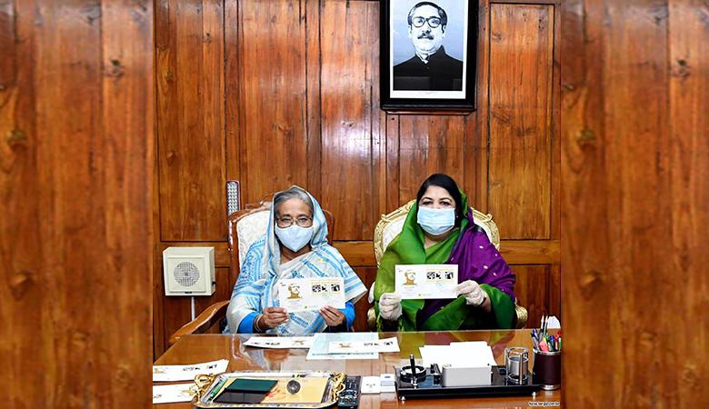 Photo of মুজিববর্ষে জাতীয় সংসদের বিশেষ অধিবেশন উপলক্ষে ডাক টিকেট