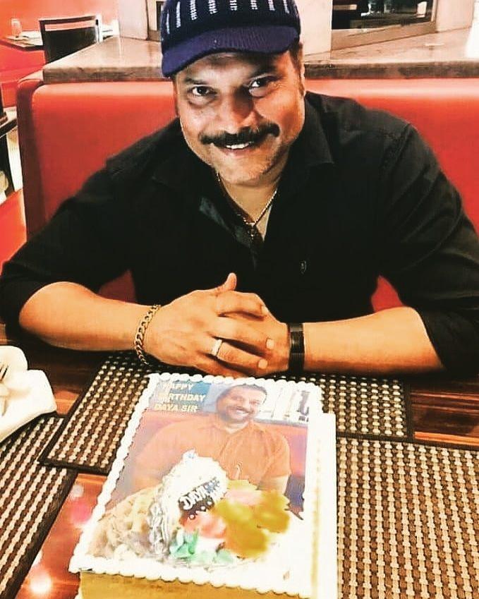today cid show actor daya shetty's birthday