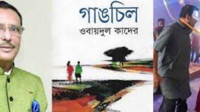 Photo of ওবায়দুল কাদেরের 'গাঙচিল' উপন্যাস অবলম্বনে নির্মিত চলচ্চিত্রে পূর্নিমা-তারিক আনাম